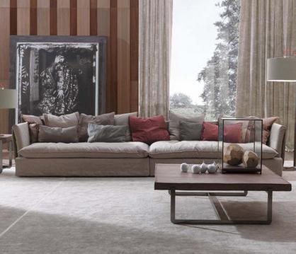 New Oriental Zen Zen Rohan couch bed old elm Chinese trio