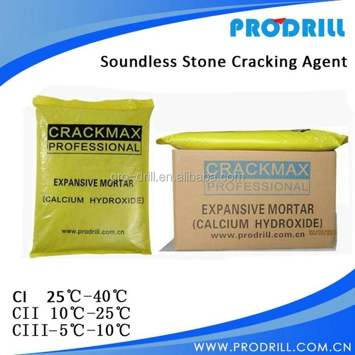 CRACKMAX Non-Explosive Demolition Agents for Concrete,Calcium Hydroxide,expansive mortar