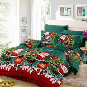 Soft home Customized Wholesale Christmas duvet cover set king size