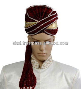 Indian Wedding Groom Turban Safa