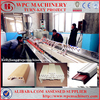 Wood plastic composite profile extrusion machine production line