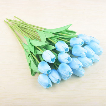 Artificial Flower Tulip Wedding Hydrangea Simulation Of Silk Flower Arch Road Leading Flowers Home Decoration Simulation