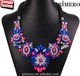 New Arrival multicolor Fashion Wholesale Shourouk Chain maxi Choker Statement Necklace & Pendant