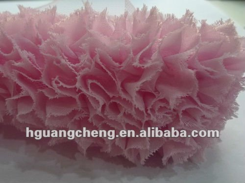 high-quality lace trimming/dreaming chiffon design