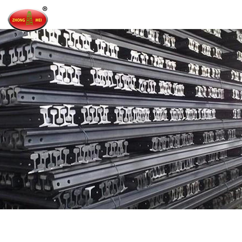 Supply Excellent Rail China Coal Railway Track Light Steel Rail For Mining Use