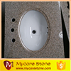 Cheaper Chinese G682 Golden yellow bathroom granite vanity top