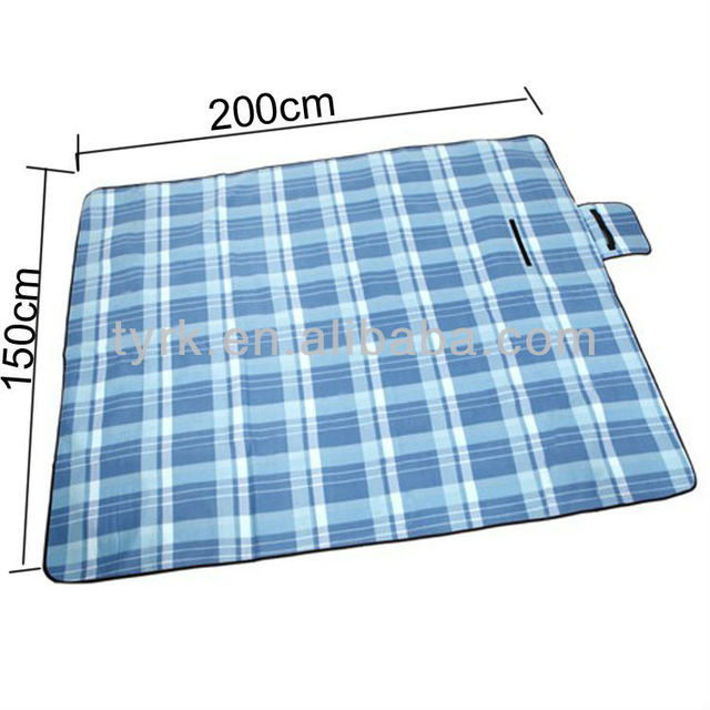 Picnic Blanket Tartan Rug Fleece