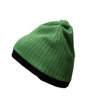 Wholesale Knit Pattern Beanie Mens Beanie Knitting Pattern Knit Striped Beanie Hat