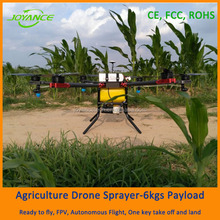 Spraying usage agricultural drone, pesticide sprayer uav drones with 6L tank capacity