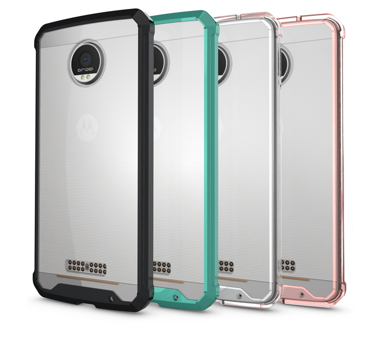 Top Selling Products In Alibaba Quality Clear Durable Transparent TPU & Acrylic Case For Moto Z Play