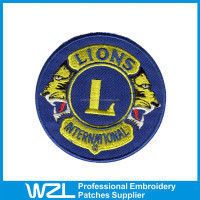 Customized Embroidered Patches sports patch for garment accessories