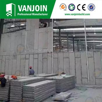 Prefab Car Garage/ School/hotel Building Material Eps Cement Panels