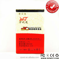 Alibaba wholesale phone accessories 850mAh mobile battery, mobile phone battery for BL-4C nok