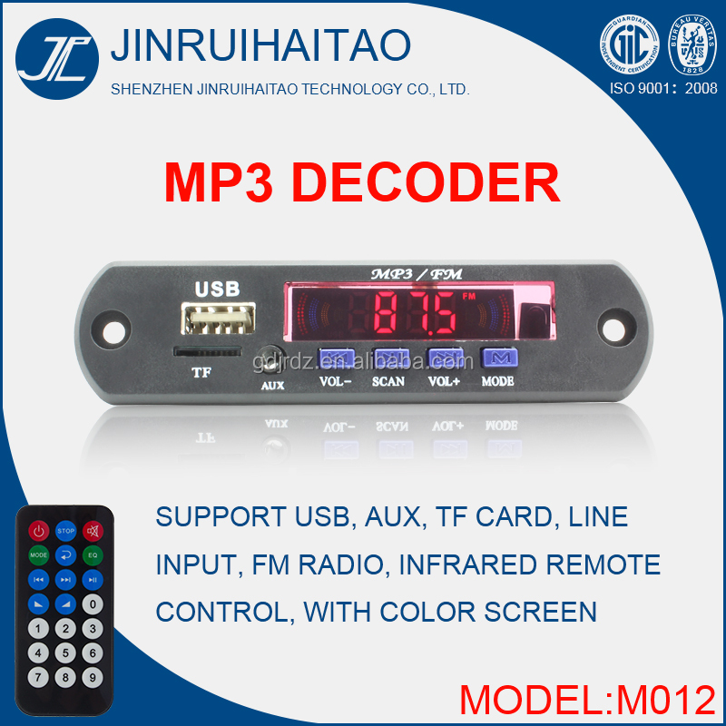 Bluetooth Mp3 Fm Radio Player Module