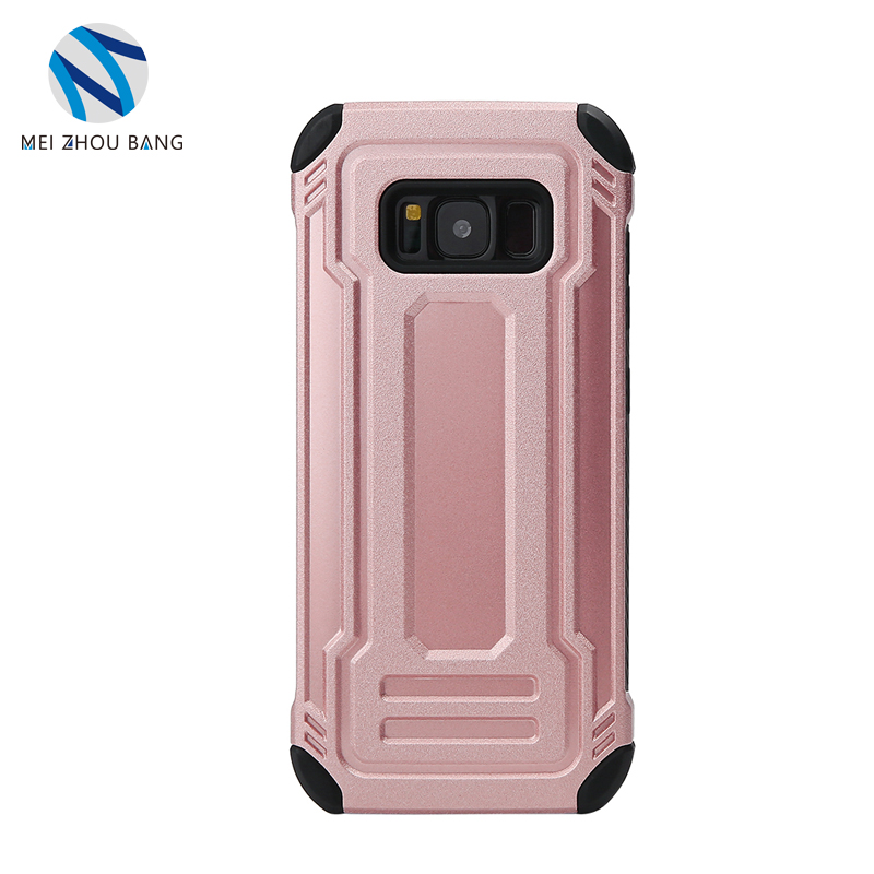 Best TPU + PC shockproof bumper Protective Cover Case For Samsung S8 plus Mobile Phone cases
