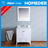 Homedee white antique bathroom vanity cabinets modern for heavy people