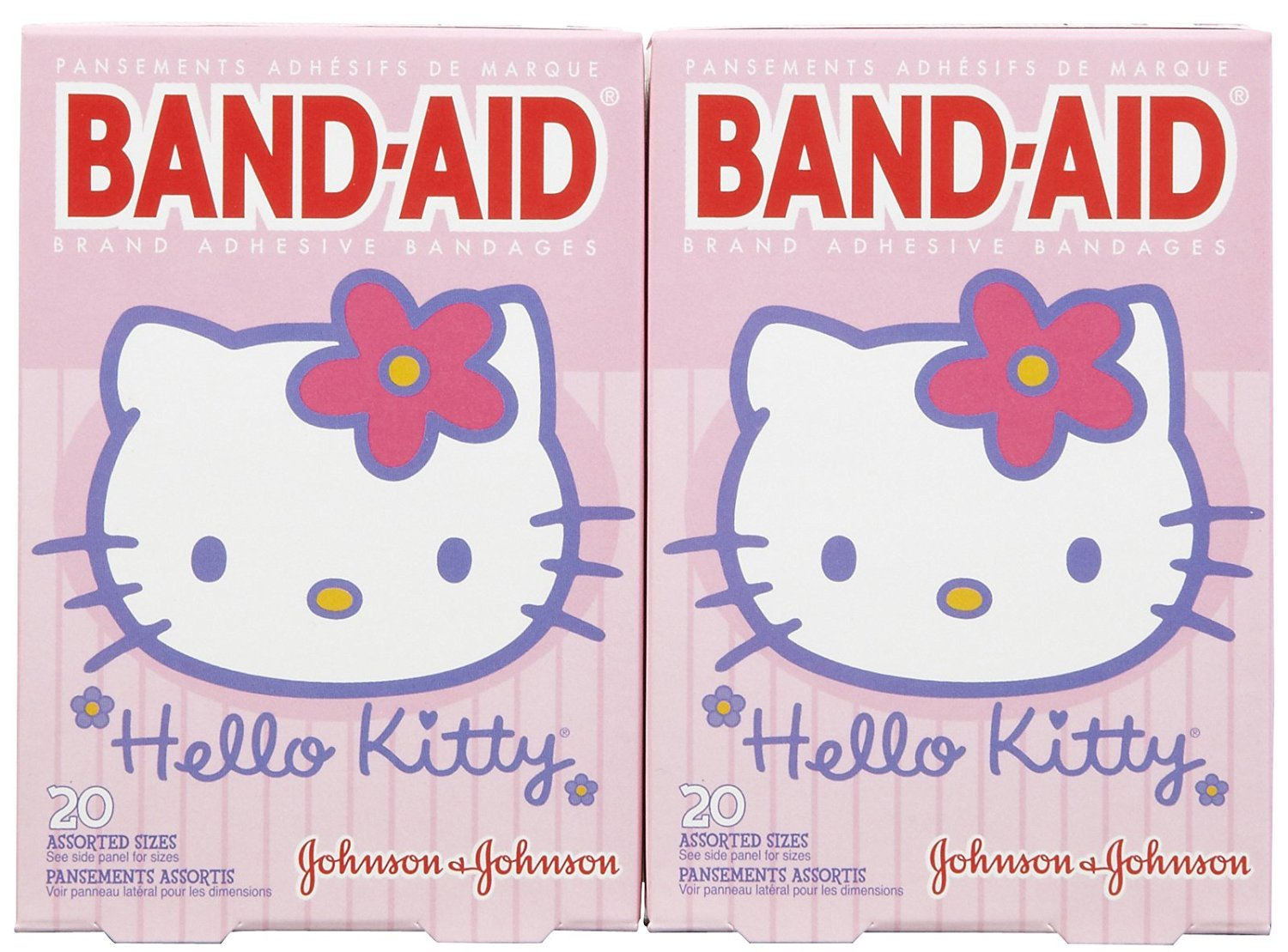 Band-Aid Bandages - Hello Kitty - 20 ct - 2 pk
