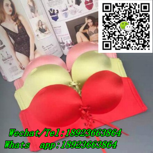 38bf2d7480e84 One piece Seamless Bandeau Bra Top with Removable Pads Strapless Bra with  Cheap Pric
