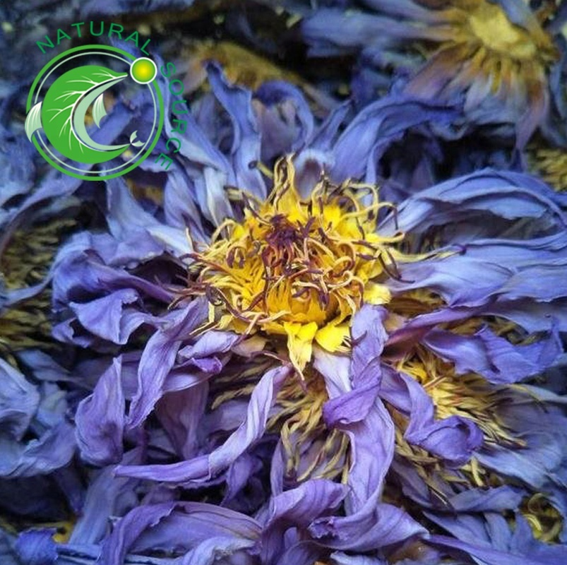 Wholesale Salable Natural Fresh Dried Blue Lotus Flower For Herbal <strong>Tea</strong>