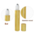 Wholesale bamboo stype 5ml 10ml 15ml bamboo roller bottle with metal roller ball for cosmetic perfume oil