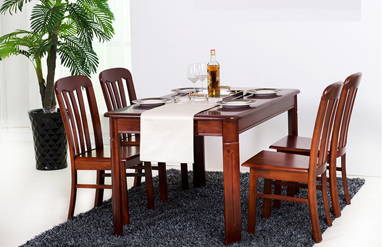 Modern Simple Dining Table Set Solid Wood Dining Table And Chair Buy Table Set Dining Table Set Dining Table And Chair Product On Alibaba Com