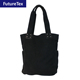 Alibaba Simple Premium Black Tote Bag Cotton Canvas Handbag Vendors