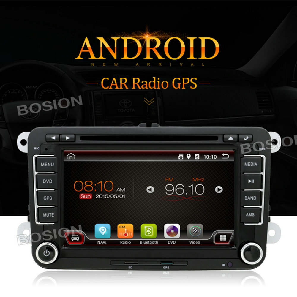 Audio Stereo 7inch 2din Car Android DVD Player for Volkswagen Passat B6 2006-2011