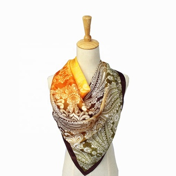 promotion Fashion Silk Printed Scarf