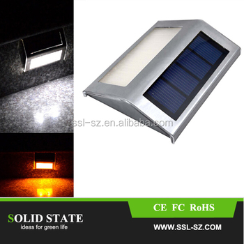 Alibaba Top Selling Solar Tep Light Stainless Steel Solar Stair ...