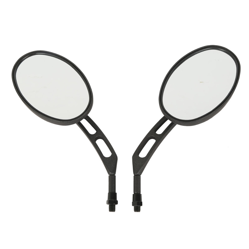 Universal Motorcycle 10mm Oval View Mirror For Honda KTM