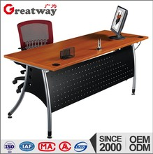 modern office manager table design metal table base