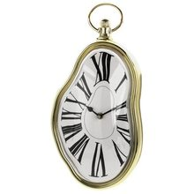 Beautiful design Roman Retro Numeral Timepiece Melting Distorted Wall Clock