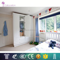 Lecong free CAD 3D-MAX cabinet designs for small bedroom