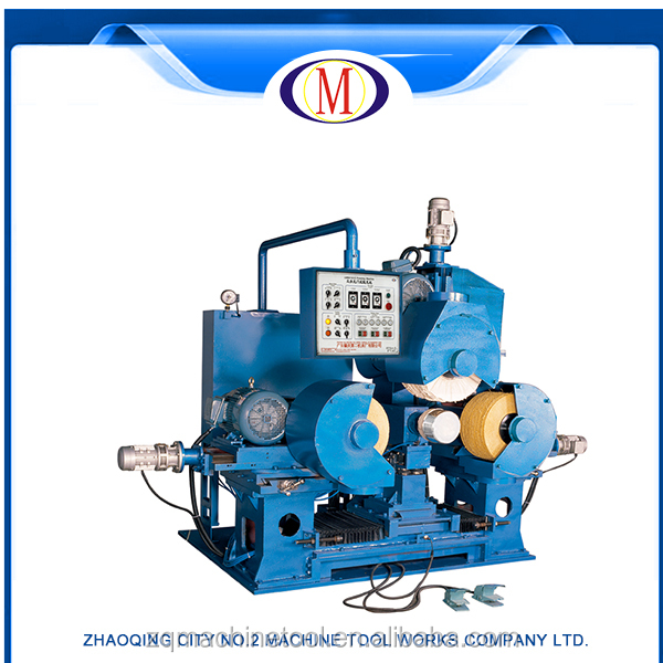watch polishing machine and watch polishing machine