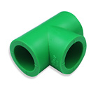 China injection mould maker production green three way pipe fitting mould made of pvc plastic