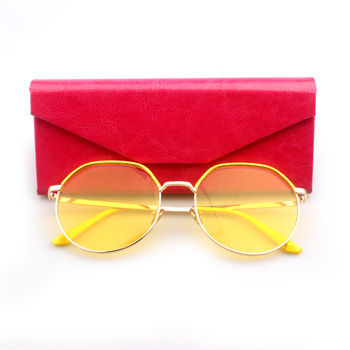 cbe8b66eb23 Made in China high end clear lenses true colors fashion sunglasses women