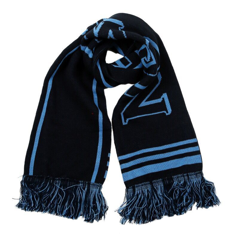 customized colors knit football soccer sport  football scarf