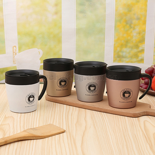 Stainless steel double layer vacuum insulation thermos coffee mug coffee cup tumbler