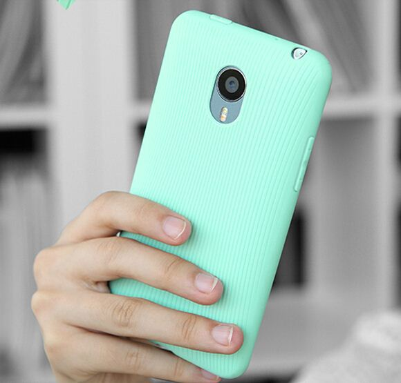 soft silicon high quality tpu soft silicon Case for Meizu m1 note case silicon cover free shipping protector