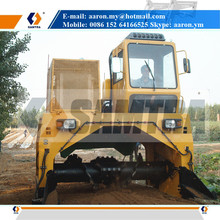 Wheel Type Compost Turner, Hydraulic Driven Pivot Steering Composter, Composting Machine