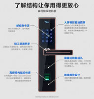 security fingerprint reader door lock