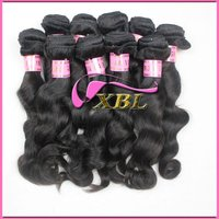 hot sale virgin indian remy hair natural color 100% humanhair extension 1207