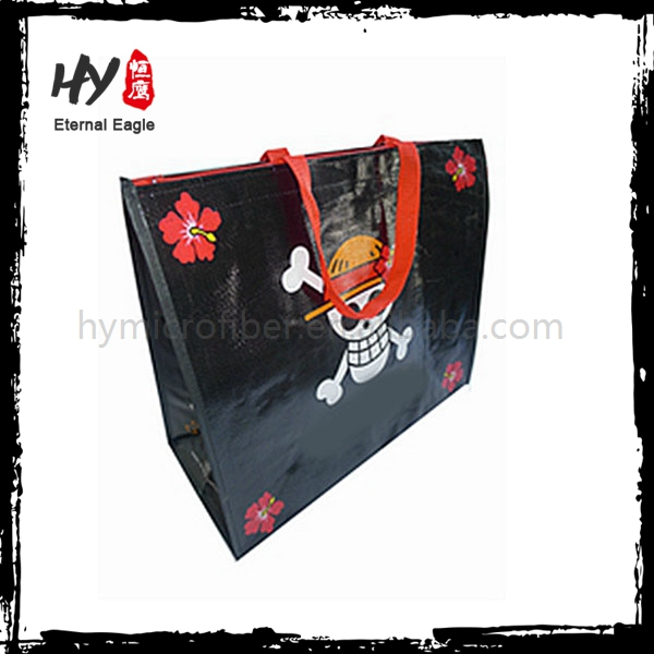 High quality yellow pp woven shopping bag with great price