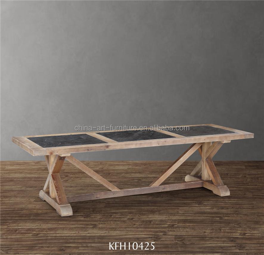 Venta al por mayor mesas de madera del comedor-Compre online los ...