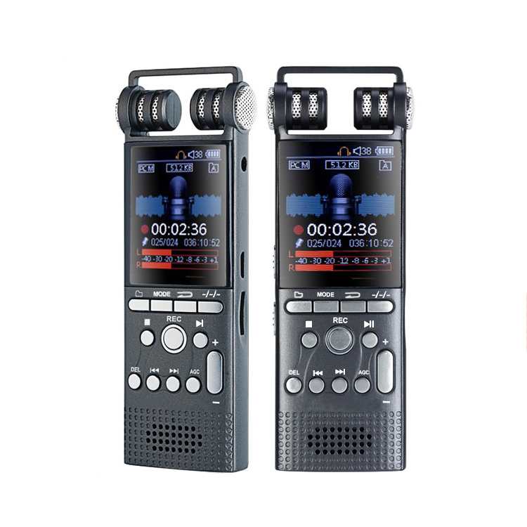 Hot sale digital voice recorder 8GB noise cancellation Dictaphone HD recording voice recorder