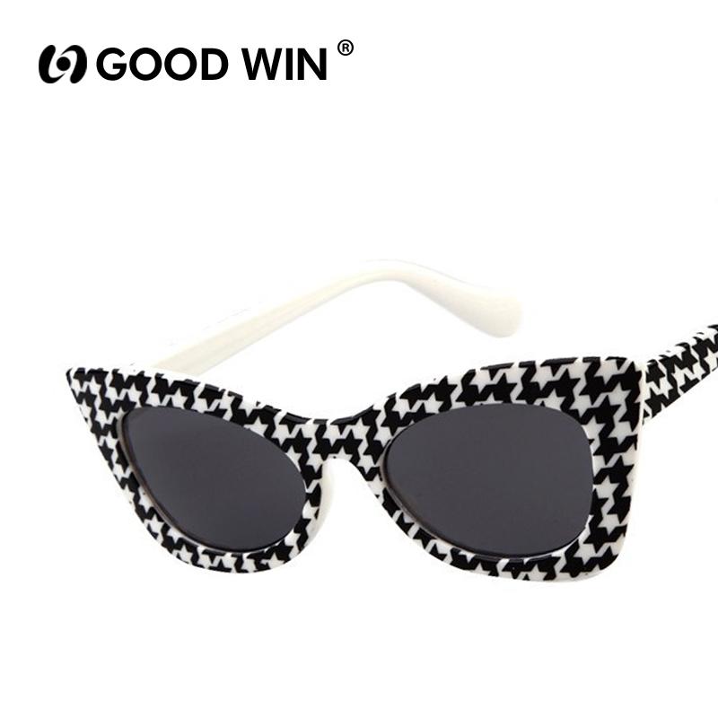 Brand Designer 2015 New Fashion Cat Eye Glasses Kids Sunglasses Vintage Coating Sunglass gafas de sol K13055 oculos