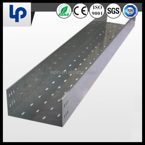 HDG Stainless Steel Cable Tray Prices/Perforated Cable Tray/Wire mesh Basket