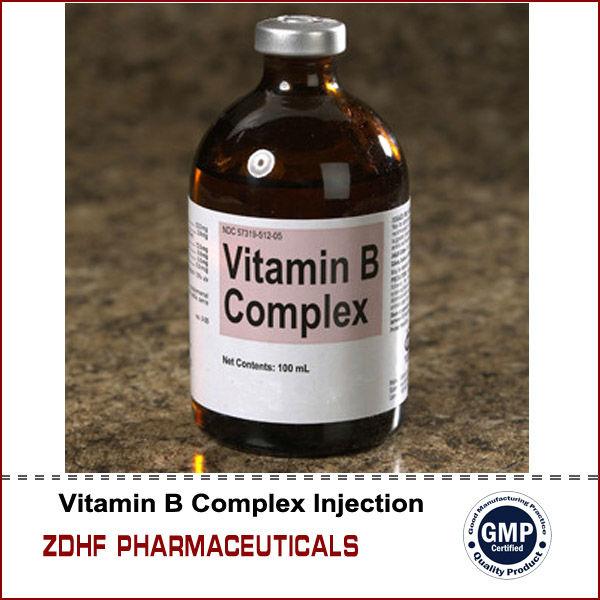 Vet Drugs Racing Horses Medicine Complex Vitamin B Injection