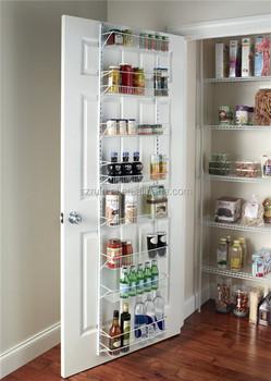 Pantry Küche Regal Tür Schrank Wandmontage Gewürzregal Veranstalter  Lagerung Inhaber