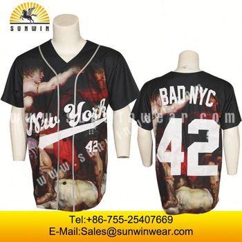 6cb7f535681 Custom Design Full Dye Sublimation Printing discount sports baseball  uniforms